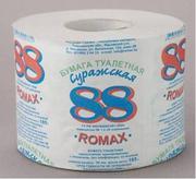 Большой ассортимент туалетной бумаги,  бытовой химии и салфеток