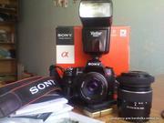 Зеркальный фотоаппарат для начинающих и продолжающих Sony A450