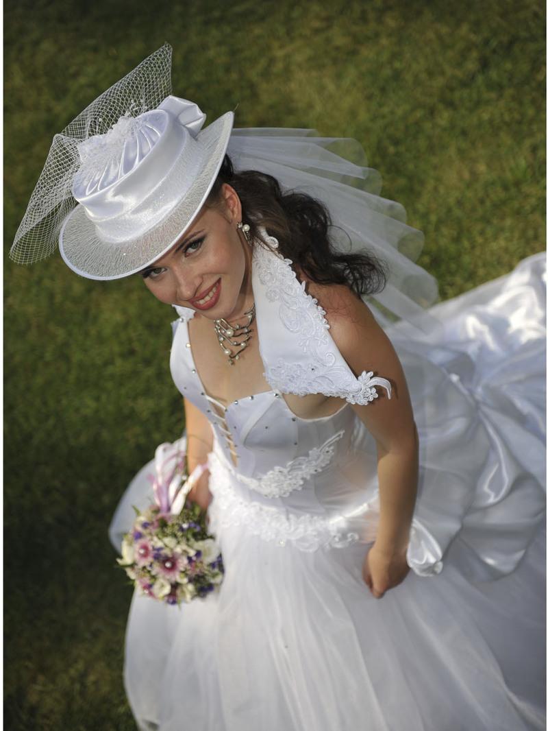 свадебное платье с шляпой :: patapfilea1975