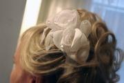 украшение свадебное в прическу