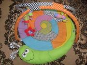 Игровой развивающий коврик Удивительный сад