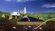 Бестраншейное строительство инженерных сетей и коммуникаций.