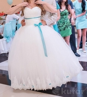Свадебное платье Б/у 1 раз :)