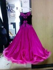 Продается платье для бальных танцев. Стандарт Ю-1. СРОЧНО