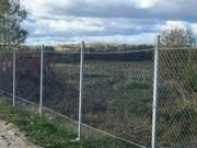 Забор из сетки рабица 1, 5 метра