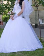 Свадебное платье один раз бу