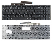 Клавиатура для ноутбука Samsung NP350V5C NP355E5C NP550P5C Black RU