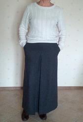 Юбка длинная макси демисезонная,  бренда Sokolova Bogorodskaya размер 44,  164 см