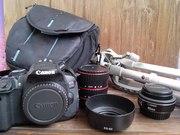 Canon 650 D   Объектив 40 mm 2.8 STM   Макрокольца   Штатив