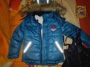 Куртка и полукомбенизон зимний для мальчика