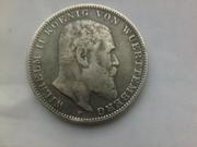 Старинная немецкая монета 3 марки