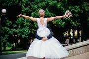 красивое свадебное платье , б/у