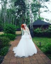 Свадебное платье (+фата) от известного бренда Rara avis