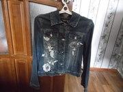 милая  джинсовая куртка