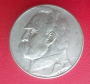 Монета 5 злотых 1936 года