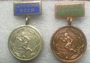 Значки- спортивные медали