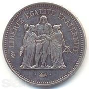 серебряная Монета 50 франков