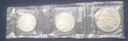 Набор из трёх юбилейных монет пруф
