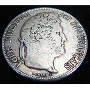 Монета 5 франков
