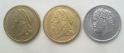 старые монеты Греции