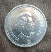 монета канадская