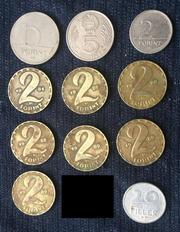 старые монеты венгерские